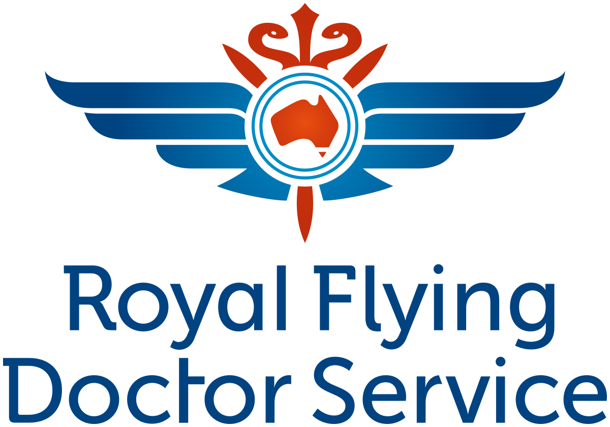 Logo for the Royal Flying Doctor Service